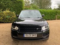 USED 2013 13 LAND ROVER RANGE ROVER 4.4 SDV8 AUTOBIOGRAPHY 5d AUTO 339 BHP HUGH SPECIFICATION