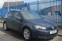 2011 VOLKSWAGEN GOLF 2.0 MATCH TDI DSG 5d AUTO 138 BHP TOP SPEC £4990.00