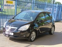 USED 2011 11 VAUXHALL MERIVA 1.7 SE CDTI 5dr Pan roof 1/2 Leather Cruise Alloys Low Mileage Diesel with history