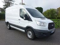 USED 2015 15 FORD TRANSIT 330 L2 H2 MWB MEDIUM HIGHTOP 2.2 TDCI  One Company Owner 71000 Miles, Full Service History, Popular MWB Model In Very Good Condition!