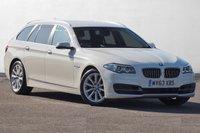 USED 2013 63 BMW 5 SERIES 2.0 520D SE TOURING 5d AUTO 181 BHP Rare Spec FBMWSH