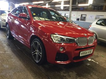 2014 BMW X4 3.0 XDRIVE35D M SPORT 4d AUTO 309 BHP £21995.00