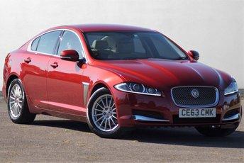 2013 JAGUAR XF 2.2 D SE BUSINESS 4d AUTO 163 BHP £8995.00