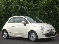 USED 2009 E FIAT 500 1.2 LOUNGE 3d 69 BHP