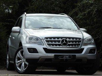 2009 MERCEDES-BENZ M CLASS 3.0 ML320 CDI SPORT 5d AUTO 222 BHP £6950.00