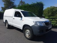 USED 2015 15 TOYOTA HI-LUX ACTIVE SINGLE CAB 4X4 PICK UP 2.5 D4-D 142 BHP