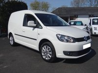 USED 2016 16 VOLKSWAGEN CADDY C20 TRENDLINE 2.0 TDI 102 BHP New Model Caddy Direct From Leasing Company With Low Miles And Full Service History, Higher Specification Model, Eye Catching Van!
