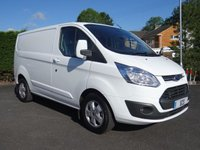 2015 FORD TRANSIT CUSTOM 270 LIMITED 2.2 TDCI 125 BHP £11495.00