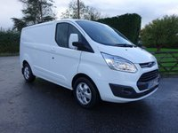 USED 2015 65 FORD TRANSIT CUSTOM 270 L1 H1 SWB LIMITED 2.2 TDCI 125 BHP Top Of Range Limited Model With Low Mileage And Full Service History! Excellent Vale!!