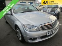 USED 2009 58 MERCEDES-BENZ C CLASS AUTOMATIC 1.6 C180 KOMPRESSOR BLUEEFFICIENCY SE 4d AUTO 156 BHP