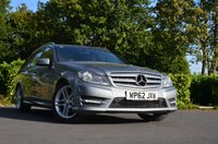USED 2013 62 MERCEDES-BENZ C CLASS 2.1 C220 CDI BLUEEFFICIENCY AMG SPORT 5d 168 BHP