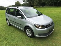 USED 2011 61 VOLKSWAGEN TOURAN 1.6 S TDI 5d 106 BHP **EXCELLENT FINANCE PACKAGES**7 SEATER**CRUISE CONTROL**