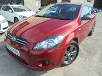 USED 2011 KIA CEED 1.4 PRO CEED STRIKE 3d 89 BHP Great Budget Car, No Fee Finance Finance Available, No Deposit Necessary