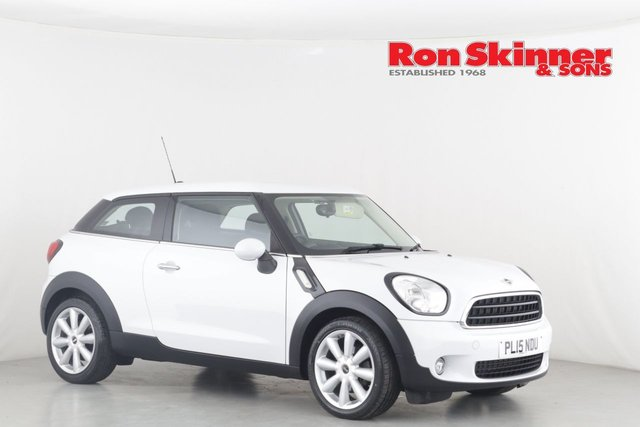 View our 2015 15 MINI PACEMAN 1.6 COOPER D 3d 111 BHP
