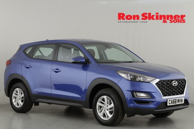 View our 2018 68 HYUNDAI TUCSON 1.6 GDI S CONNECT 5d 130 BHP
