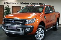 USED 2015 65 FORD RANGER 3.2 WILDTRAK 4X4 DCB TDCI 1d 197 BHP