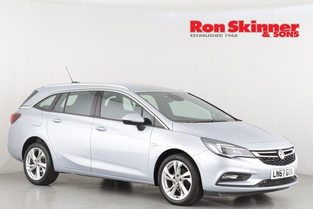 View our 2017 67 VAUXHALL ASTRA 1.4 SRI S/S 5d AUTO 148 BHP