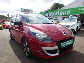 2011 RENAULT SCENIC 1.6 DYNAMIQUE TOMTOM BOSE ENERGY DCI S/S 5d 130 BHP £5000.00