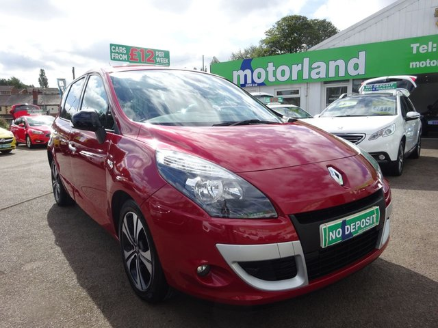 USED 2011 61 RENAULT SCENIC 1.6 DYNAMIQUE TOMTOM BOSE ENERGY DCI S/S 5d 130 BHP ** 01543 877320 ** JUST ARRIVED