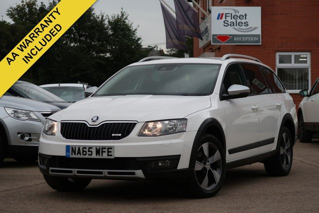 USED 2015 65 SKODA OCTAVIA 2.0 SCOUT TDI DSG 5d AUTO 181 BHP SATELLITE NAVIGATION, HEATED SEATS + FINANCE AVAILABLE