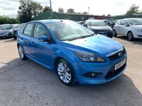 USED 2010 60 FORD FOCUS 1.6 ZETEC S S/S 5d 113 BHP FULL SERVICE HISTORY