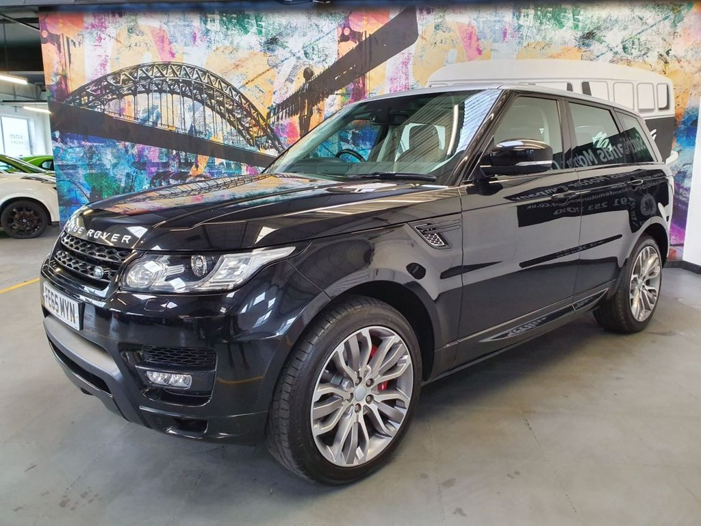 USED 2015 65 LAND ROVER RANGE ROVER SPORT 4.4 SDV8 AUTOBIOGRAPHY DYNAMIC 5d AUTO 339 BHP