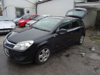 USED 2007 57 VAUXHALL ASTRA 1.6 CLUB 5d 115 BHP