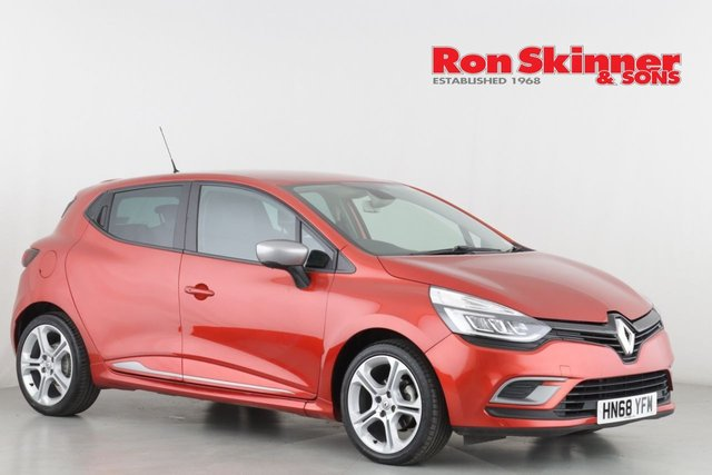 View our 2018 68 RENAULT CLIO 0.9 GT LINE TCE 5d 89 BHP