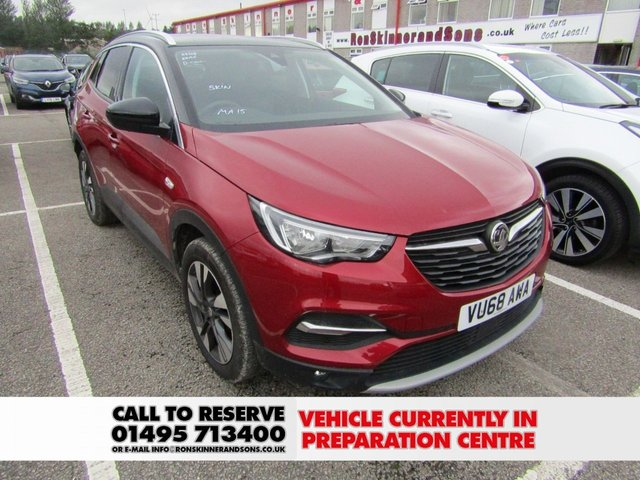 VAUXHALL GRANDLAND X at Ron Skinner and Sons