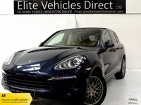 2012 PORSCHE CAYENNE 3.0 D V6 TIPTRONIC 5d AUTO 245 BHP £19491.00