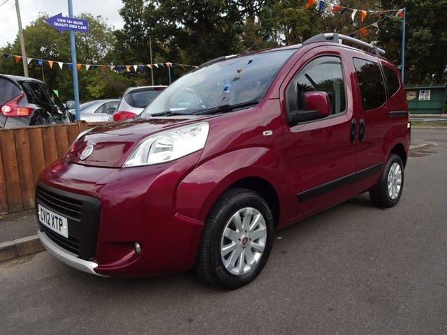 USED 2012 12 FIAT QUBO 1.2 Multijet Trekking Diesel 5door MPV **LONG MOT*SERVICE HISTORY**£30 A YEAR ROAD TAX*