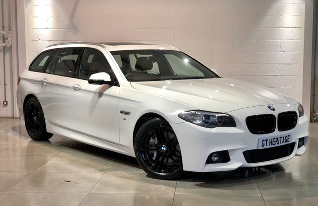 2017 17 BMW 5 SERIES 530D M SPORT TOURING [PAN][PWR BOOT]