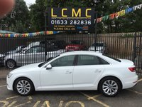 USED 2016 16 AUDI A4 2.0 TDI ULTRA SE 4d  148 BHP STUNNING IBIS WHITE, HEATED SEATS, CHARCOAL CLOTH TRIM, ALLOY WHEELS, REAR PARKING AIDS, SAT NAV, DAB RADIO, BLUE TOOTH, WIFI, USB, AUX, CRUISE CONTROL, AIR CON, XENON LIGHTS, 1 OWNER, FULL AUDI SERVICE HISTORY