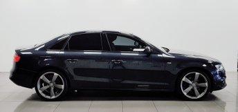 2014 AUDI A4 2.0 TDI QUATTRO BLACK EDITION S/S 4d AUTO 174 BHP £9950.00