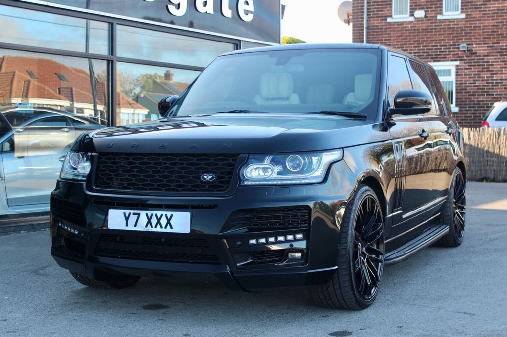 USED 2015 64 LAND ROVER RANGE ROVER 3.0 TDV6 AUTOBIOGRAPHY URBAN 5d AUTO 258 BHP