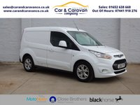 USED 2015 15 FORD TRANSIT CONNECT 1.6 200 LIMITED P/V 1d 114 BHP One Owner All Dealer History Buy Now, Pay Later Finance!