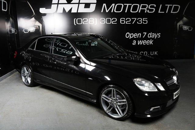 2010 60 MERCEDES-BENZ E CLASS E250 CDI BLUEEFFICIENCY SPORT NIGHT EDITION STYLE AUTO 204 BHP (FINANCE AND WARRANTY)