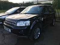 USED 2011 61 LAND ROVER FREELANDER 2 2.2 TD4 XS 5d AUTO 150 BHP SATNAV LEATHER FSH 4WD. SATELLITE NAVIGATION. STUNNING BLACK MET WITH BLACK LEATHER TRIM. ELECTRIC HEATED SEATS. CRUISE CONTROL. 19 INCH BLACK ALLOYS. COLOUR CODED TRIMS. PARKING SENSORS. BLUETOOTH PREP. CLIMATE CONTROL. TRIP COMPUTER. R/CD/MP3 PLAYER. AUTO GEARBOX. MFSW. TOWBAR. MOT 09/20. SERVICE HISTORY. SUV4X4 USED SUV CENTRE LS23 7FR. TEL 01937 849492. OPTION 2