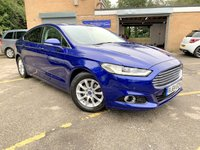 2015 FORD MONDEO 1.6 TITANIUM ECONETIC TDCI 5d FREE TAX, HEATED LEATHER, NAV £7990.00