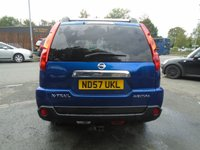USED 2007 57 NISSAN X-TRAIL 2.0 AVENTURA EXPLORER X DCI 5d AUTO 148 BHP 2 OWNER+GOOD SERVICE HISTORY