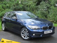 USED 2016 66 BMW 1 SERIES 1.5 118I SPORT 5d * LOW MILEAGE * 12 MONTHS FREE AA MEMBERSHIP * 128 POINT AA INSPECTED *
