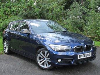 2016 BMW 1 SERIES 1.5 118I SPORT 5d £10600.00