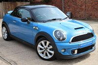 USED 2013 13 MINI COUPE 1.6 COOPER S 2d AUTO 181 BHP **** BEAUTIFUL LOW MILEAGE AUTOMATIC MINI COOPER S COUPE WITH HEATED LEATHER SEATS ****