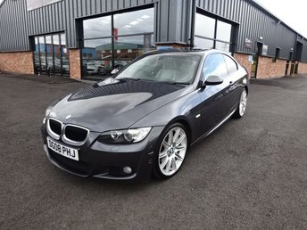 2008 BMW 3 SERIES 2.0 320I M SPORT 2d 168 BHP + FULL LEATHER INTERIOR £3990.00