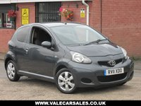 USED 2011 11 TOYOTA AYGO 1.0 VVT-I GO (LOW MILAGE+£20 TAX) 3dr LOW MILEAGE WITH SERVICE HISTORY + £20 ROAD TAX
