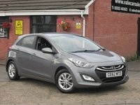 2012 HYUNDAI I30 1.6 CRDI ACTIVE BLUE DRIVE (ONE OWNER) 5dr £4990.00