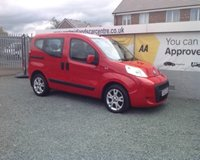 2012 FIAT QUBO 1.4 MYLIFE 5d 73 BHP PETROL RED £4990.00