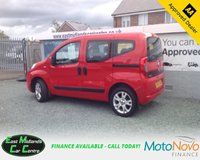 USED 2012 62 FIAT QUBO 1.4 MYLIFE 5d 73 BHP PETROL RED GENUINE LOW MILEAGE + EXCELLENT CONDITION