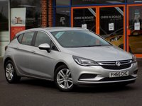 USED 2017 66 VAUXHALL ASTRA 1.6 CDTi ecoFlex Design 5dr **Smartphone Integration + DAB**
