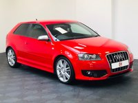 USED 2007 07 AUDI S3 2.0 TFSI QUATTRO 3d 262 BHP STUNNER IN THIS COLOUR + GOOD SERVICE HISTORY + LOW MILES